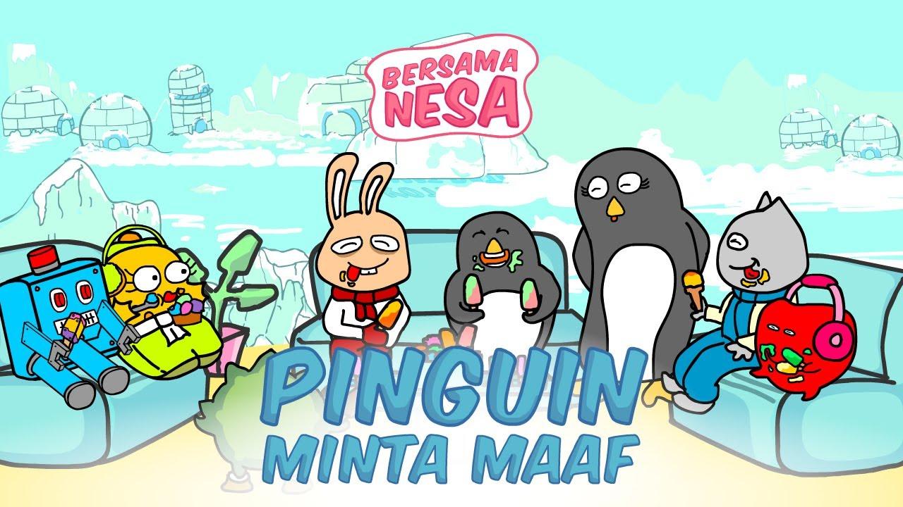 Kartun Lucu Pinguin Minta Maaf Part 2 Tamat Youtube