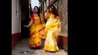 DAD MUMMY HAI NHI GHAR PE DANCE   BEAUTIFUL LADIES DANCE ON DADDY MUMMY SONG   BANGLA BEAUTIES FIRE