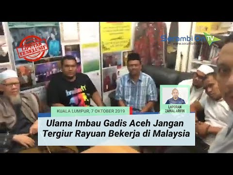 Ulama Imbau Gadis Aceh Jangan Tergiur Rayuan Bekerja Di Malaysia