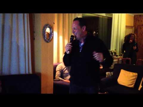 Rosario Rizzo canta Compleanno Marilena 13-12-12