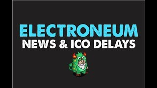 Electroneum Update : Top 50 on Coinmarket Cap ICO Delayed Again!