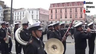 Glorias Navales 2017: Preparatoria. Colocación al Desfile