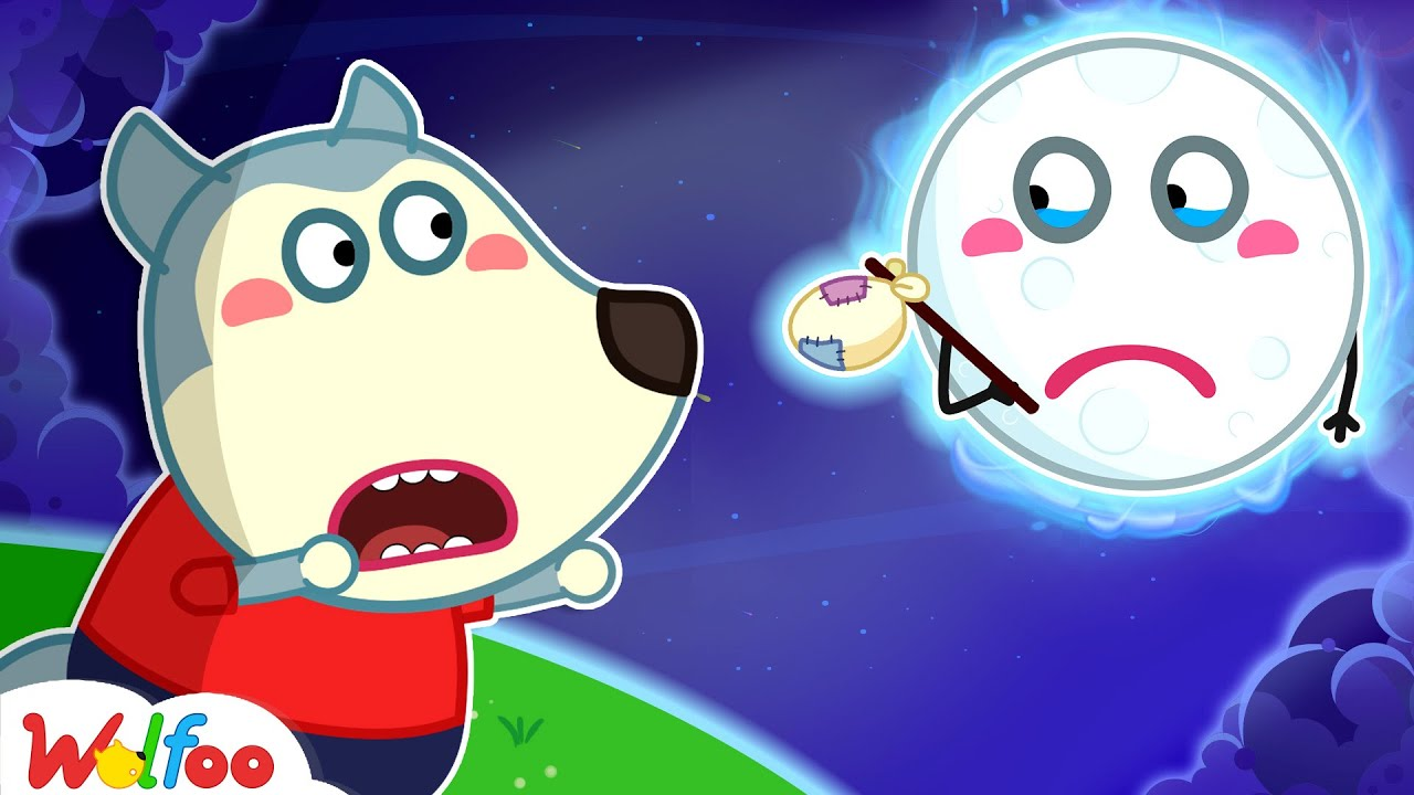 The Moon! Please Come Back with Wolfoo! - Kids Stories About the Importance of Moon | Wolfoo Channel