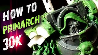 Comment la MORT de la GARDE Primarch - Space Marine Caractère HH - 30k Green Stuff Conversion Retri