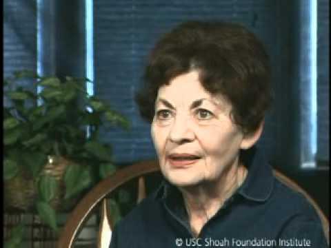 Jewish Survivor Betty Dickman Testimony