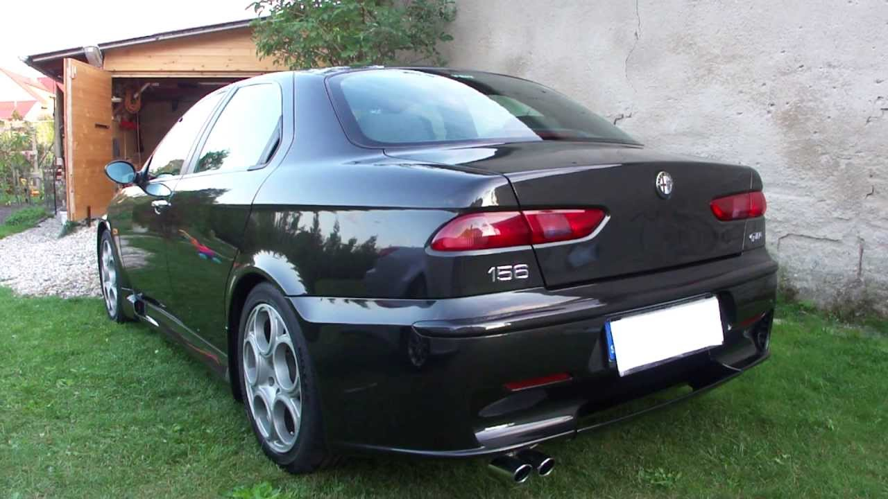 alfa romeo 156 gta sound youtube. Black Bedroom Furniture Sets. Home Design Ideas