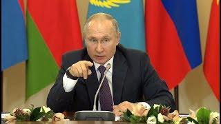 Это касается нас всех! Путин показал лидерам СНГ документы ВОВ