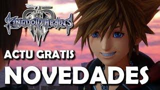 Kingdom Hearts 3 Versión 1.09 - Probando las nuevas Llaves Espadas, combos y escenas mejoradas
