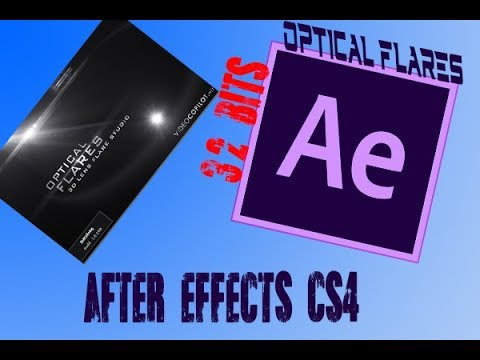 CRACK OPTICAL FLARES [32 BITS] - AFTER EFFECTS CS4