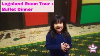 Birthday Trip to Legoland Malaysia   Room Tour. Surprised Buffet Dinner