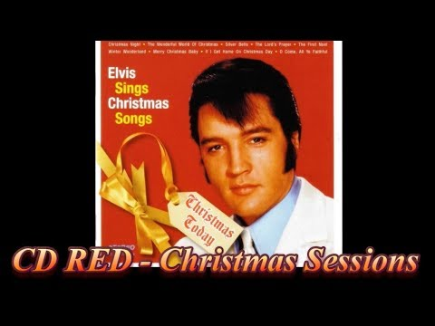 Elvis Presley -  Christmas Today 🎄 CD Red 🎄  Christmas Sessions 🎄 Mp3