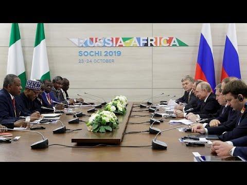 Putin meets Nigeria, Uganda, Sudan leaders