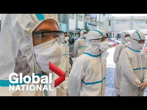 Global National: April 7, 2020 | Canadian Industries Race To Refocus On Medical Equipment Supplies