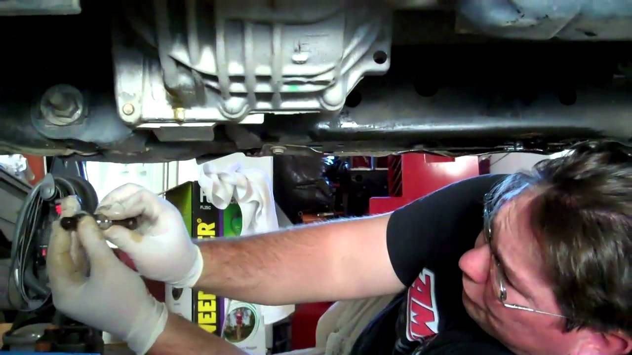 Front Differential Oil Change On 2007 Nissan Frontier