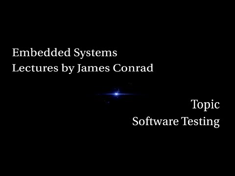 Embedded Systems:  Software Testing