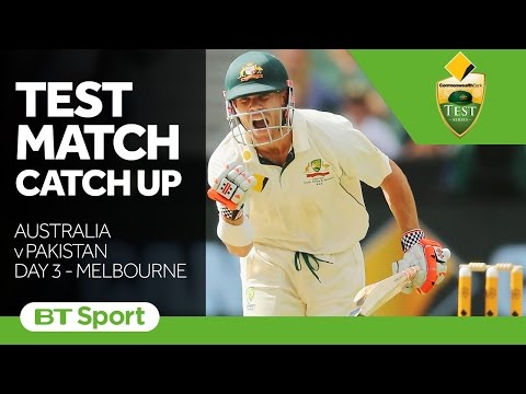 Australia vs Pakistan  Second Test Day Three Highlights   Test Match Catch Up New Flash Game