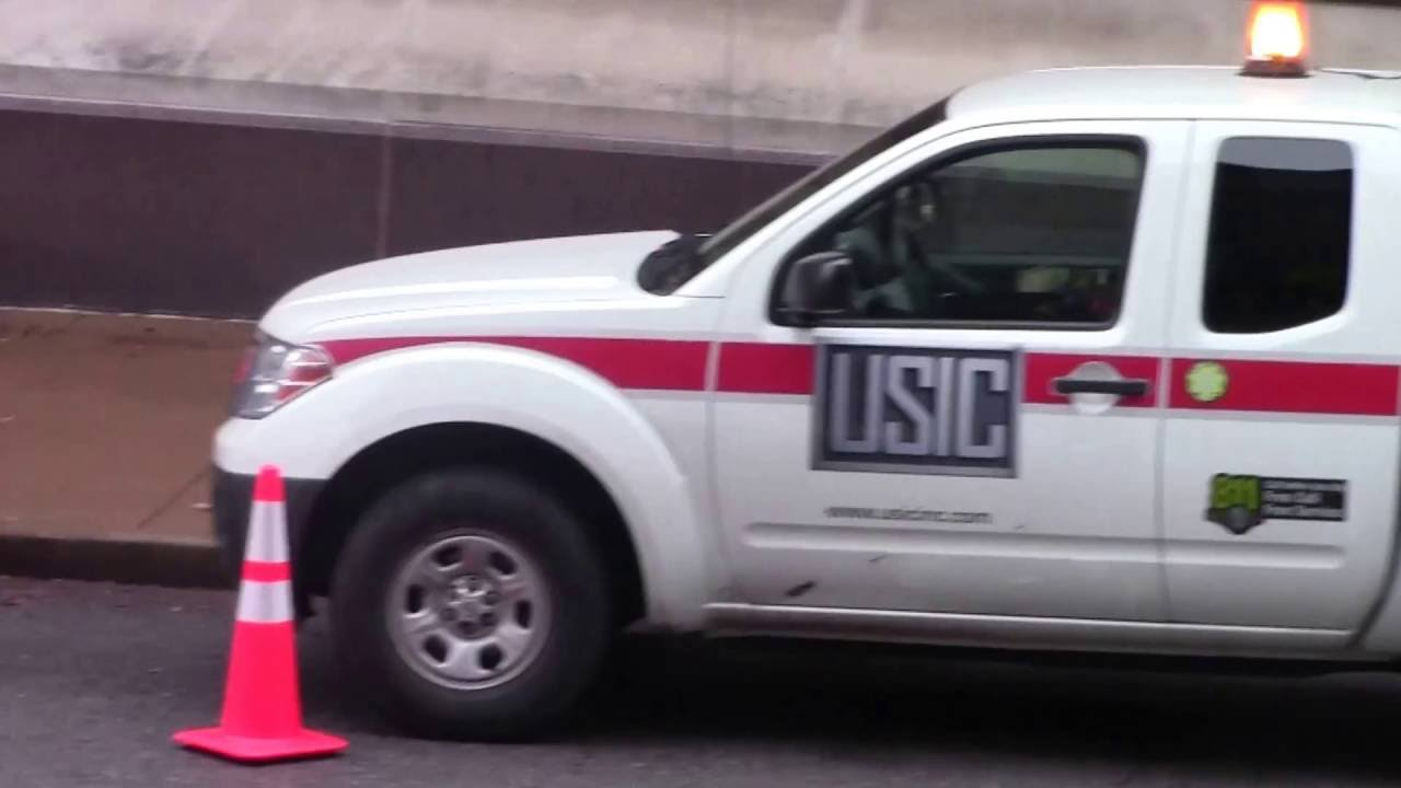 USIC Trucks Donating HD - YouTube