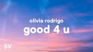 Olivia Rodrigo - good 4 u (Lyrics)