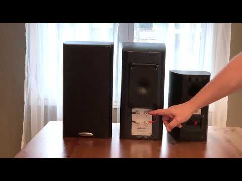 Polk LSiM bookshelf speaker blogger review