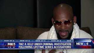 TMZ reports R  Kelly under criminal investigation
