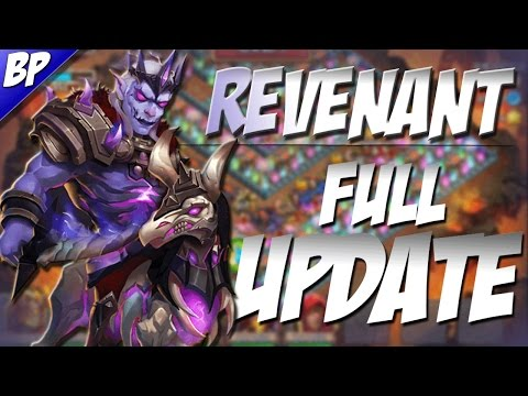Castle Clash The Full Update! (Revenant)