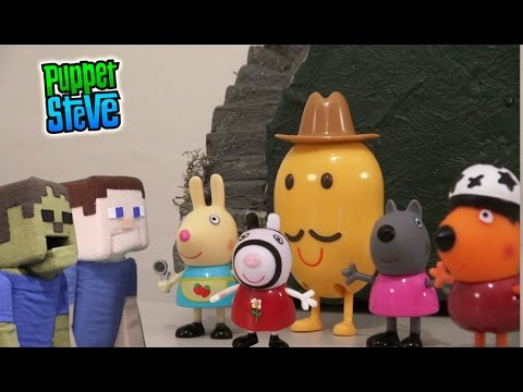 Peppa Pig Action Figures Assortment Toys Unboxing Review