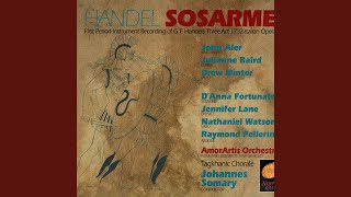 Sosarme Act Three Recitative Aria Da Capo Sincero Melo Handel