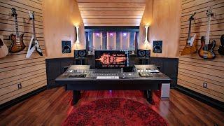 EPIC HOME STUDIO SETUP in a BARN 2021   David Dicks (studio tour)