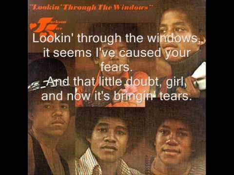 The Jackson 5 - Lookin' Through the Windows + Lyrics