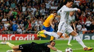 Cristiano Ronaldo Destroying World's Best Goalkeepers ( Buffon, De Gea, Cech, Courtois and Neuer)
