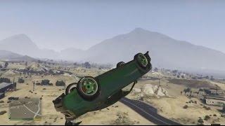GTA V (PS4) - Caídas, golpes y acrobacias #1