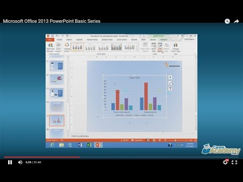 Microsoft Office 2013 PowerPoint Basic Course Series