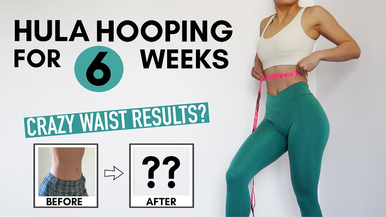 I Used a Weighted Hula Hoop Every Day | Did it Make My Waist Thinner?