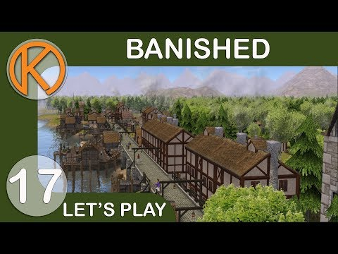 Banished CC + DS Mod Pack | CENTRAL MARKET - Ep. 17 | Let's Play Banished Gameplay