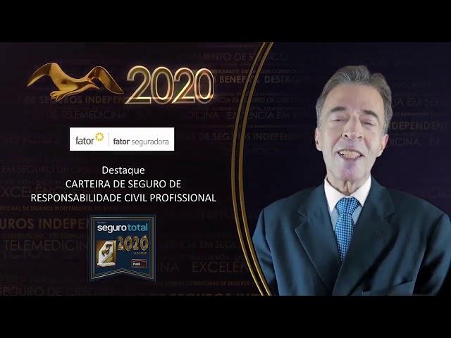 Troféu Gaivota de Ouro 2020 - Fator Seguradora