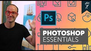 Learn Adobe Photoshop CC Essentials Intro