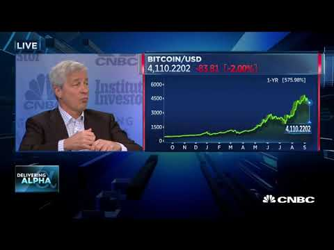 JP Morgan CEO: Bitcoin Is A Fraud