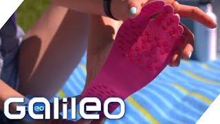 Sticker-Shoes im Test: Was können die Sohlen zum Aufkleben? | Galileo | ProSieben