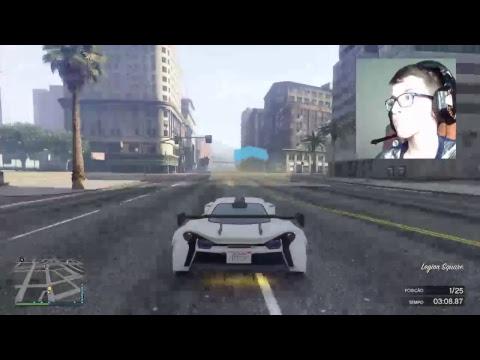 GTA V - ENCONTRO DE CARROS !!!