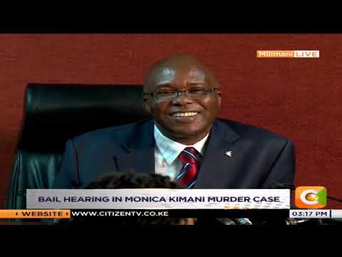 Light moment in court as Maribe's celeb status raises concern