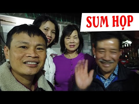 Cùng Gia đình Việt Kiều Quê Thuận An Sum Họp đầu Năm Mới