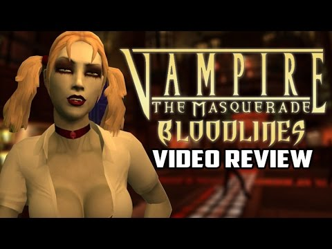 Vampire the Masquerade: Bloodlines Review