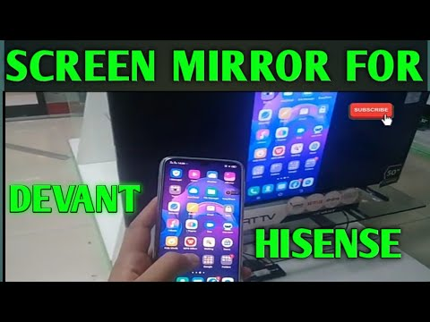 How To Connect Phone To Hisense Tv Anyview Cast