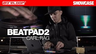 World class finger drummer Carl Rag performs on Beatpad 2
