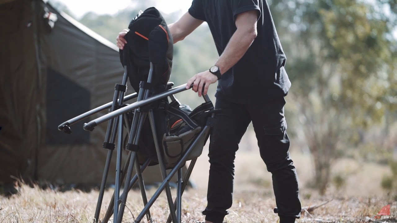 Oztent King Kokoda Chair Review Behind The Jobs Hotspot Youtube