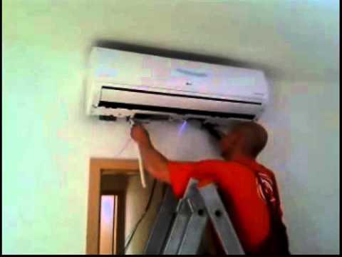 Montáž klimatizace svépomocí