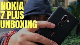Nokia 7 Plus Review Unboxing Hands-on Hindi India !