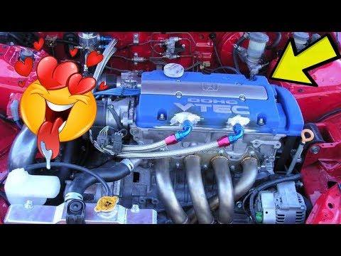 😍 10 Best Honda Engine Swaps In A Civic 🏎️