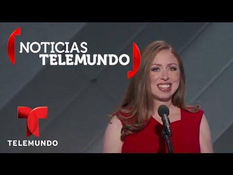 Chelsea Clinton: Mi mamá jamás olvida por quién está luchando | Noticias | Noticias Telemundo