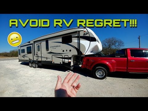 RV Things to inspect when buying new or used!